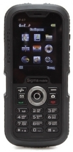 Sigma mobile Х-treme IP67 Black